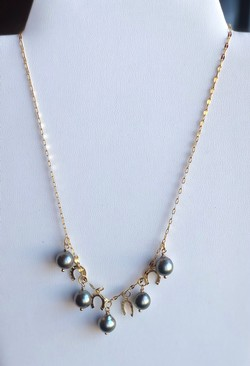 5 pearl necklace - TC13
