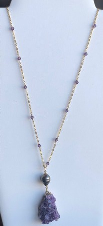 Single Pearl Necklace - TC18