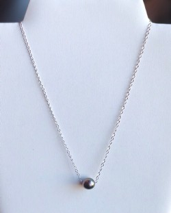 Single Pearl Necklace - TC8